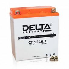 Аккумуляторная батарея 12V16Ah (151x88x164) (залитая, необслуж.) DELTA