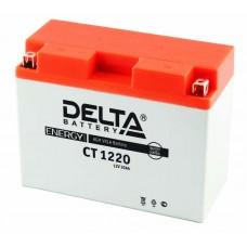 Аккумуляторная батарея 12V20Ah (204x90x159) (залитая, необслуж.) DELTA