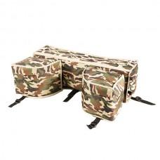 Кофр для ATV детского универсальный с боковыми карманами 750х450х250 (текстиль), камуфляж