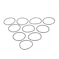Кольцо уплотнительное 77х82х2,5мм, резина (10шт)