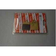 Колодки тормозные дисковые #12 X-TECH (Coper-based) медь+кевлар