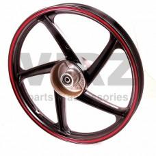 Диск колесный R17 задний 1.4-17 (литой) (барабан. 110мм) (5 лучей); ALPHA, GS110w