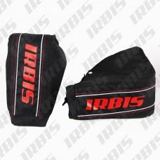 Рукавицы на руль для снегохода IRBIS T150 (текстиль) (цв. черный)