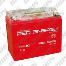 Аккумуляторная батарея 12V10Ah (137x77x135) (гелевая, необслуж.) RED ENERGY