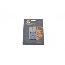 Колодки дискового тормоза питбайк однопоршневой суппорт