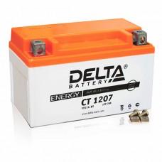 Аккумуляторная батарея 12V7Ah (150x86x94) (залитая, необслуж.) DELTA