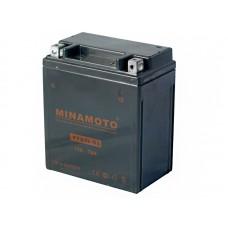 Аккумуляторная батарея YTX7L-BS (12V, 7Ah, 113x70x131) MINAMOTO