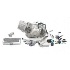 Двигатель 190см3 1P62YML-2 W190 (62x62)+радиатор ZONGSHEN для питбайков