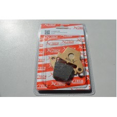 Колодки тормозные дисковые #20 X-TECH (semi-metallic) полуметал