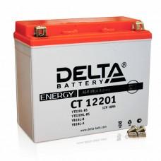 Аккумуляторная батарея 12V18Ah (177x87x154) (залитая, необслуж.) DELTA