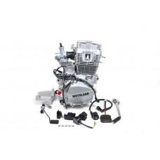 Двигатель 200см3 163FML CG200 (63,5x62,2) грм штанга, 5ск
