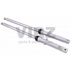 Амортизаторы передние (компл.) ALPHA (барабан.торм.) (L=660mm, d27mm)