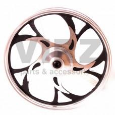 Диск колесный R17 передний 1.2-17 (литой) (барабан. 110мм) (5 дв. закруг. лучей); ALPHA, VIRAGO