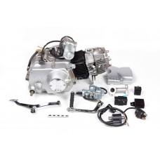 Двигатель 110см3 152FMH (52.4x49.5) механика, 4ск, стартер сверху
