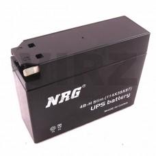 Аккумуляторная батарея 12V2,3Ah Slim (114x39x87) (залитая, необслуж.) NRG; AD/JOG