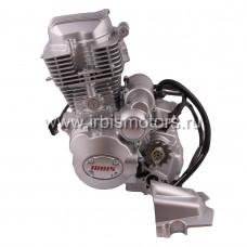 Двигатель в сборе 4Т 163FMJ (CG200) 196,9см3 (МКПП) (реверс, (R-N-1-2-3-4); ATV200