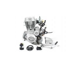 Двигатель 250см3 167FMM CG250-B (67x65) грм штанга, балансир, 5ск