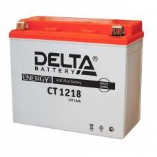 Аккумуляторная батарея 12V18Ah (177x88x154) (залитая, необслуж.) DELTA