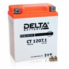 Аккумуляторная батарея 12V7Ah (114x70x132) (залитая, необслуж.) DELTA