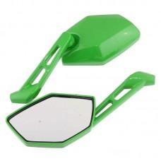 Зеркала заднего вида ТИП 22 Зеленые (8мм)