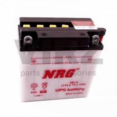 Аккумуляторная батарея 12V9Ah (135х75х140) (сухозар., необслуж.) (+ кислота) NRG