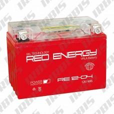 Аккумуляторная батарея 12V4Ah (114x70x87) (гелевая, необслуж.) RED ENERGY