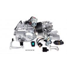 Двигатель 125см3 152FMI (52.4x55.5) полуавтомат, 1ск+реверс, верхний стартер