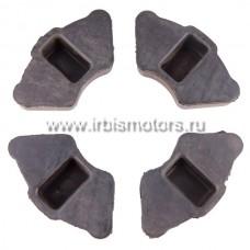 Демпферные резинки колеса (4шт) CG125, PLUTON, MINSK