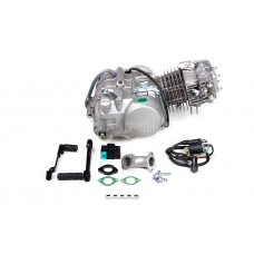 Двигатель 140см3 156FMJ YX W063 (56x57) механика, 4ск., без стартера