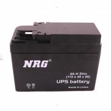 Аккумуляторная батарея 12V2,5Ah Slim (114х48х86) (залитая, необслуж.) NRG; DIO