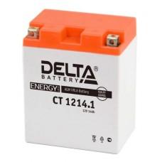 Аккумуляторная батарея 12V14Ah (132x89x164) (залитая, необслуж.) DELTA