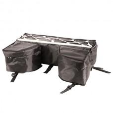 Кофр для ATV детского универсальный с боковыми карманами 750х450х250 (текстиль), черный