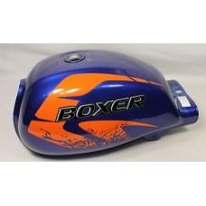 Бак топливный с наклейками, синий Boxer