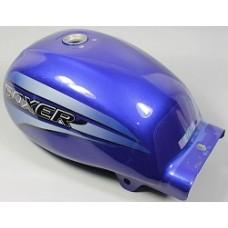Бак топливный с наклейками, синий, Boxer 150