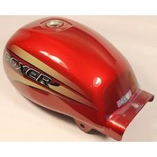 Бак топливный с наклейками, красный, Boxer